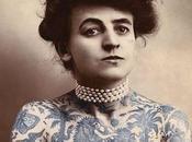 Maud Wagner, première femme tatoueuse