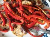 Filet Mignon Poivron Rouge Plancha