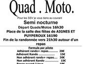 Rando Quad-moto Semi-nocturne l'association Quad Nature Chavenat (16), septembre 2017