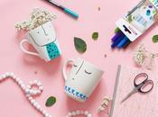Customiser Mugs avec feutres pour porcelaine