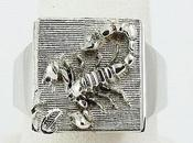Bague scorpion