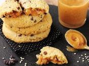 Cookies quinoa fourrés crème cacahuètes