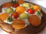 Pascade d'été fromage brebis Crêpe souflée four Rouergue l'Aveyron) Index glycémique