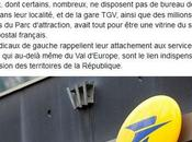 Fermeture Poste Gare Chessy, réaction d'Europe