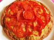 Tarte fine tomate (Vegan)