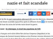 amis allemands #FN, l'#AFD, déclarent leur admiration pour nazisme #antifa
