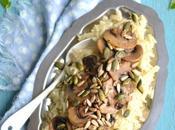 pilaf champignons cuisson bouillon légumes