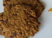 Cookies flocons d'avoine, matcha chocolat