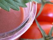 Smoothie fraise tomate