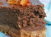 Cheesecake chocolat orange