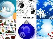 Photoshop tutoriaux brushes pour Noël