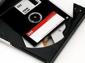 disquette dans lecteur