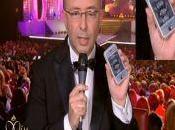 L'iPhone montre durant l'élection Miss France