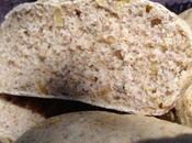Seigle noix pour petits pains fête
