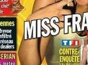 Miss France 2008 (Valérie Bègue) pose déjà dans Entrevue.