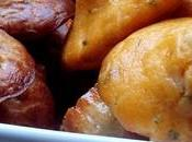 Madeleines salés feta/ciboulette versus gorgonzola/noix, choc bosses
