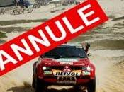 Paris-Dakar annulé