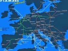 Faire tour l'Europe train