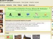 intervenants Global Eco-forum sont ligne