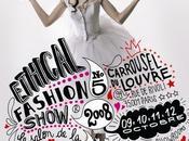 Ethical Fashion Show 2008, salon mode éthique