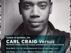 Carl Craig Cité Musique Concert dispo streaming