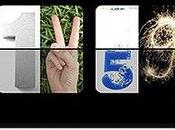 iPhone Apps Photo Flip Clock