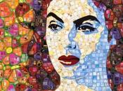 Sandhi Schimmel art, mozaïque récup'