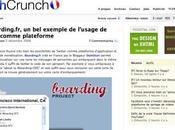 TechCrunch parle aussi Boarding.fr
