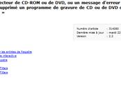 314060 pour reconnecter lecteur DVD/CD