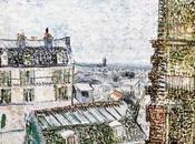GOGH, PROPOS peintures dites :VUE PARIS PRISE CHAMBRE VINCENT LEPIC
