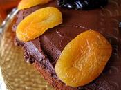 Quarante-deuxième participation Gâteau chocolat pruneaux parfumés brandy d'abricots