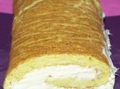génoise roulée crème poireaux
