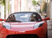 Tesla, superauto électrique.