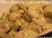 Chou-fleur sauce brocoli