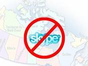 Skype iPhone disponible aujourd'hui globe... sauf Canada