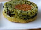 Tatin courgettes tapenade