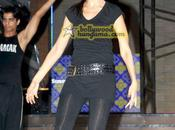 Genelia rehearses Femina Miss India 2009 performance