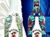 Malibu Niark1 Feebles créent deux bouteilles design Street
