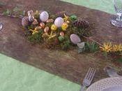 Décoration table Pâques