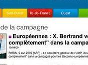 élections européennes n'inspirent décidément l'UMP