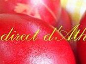 TRADITION oeufs rouges Pâques grecques