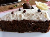Moelleux chocolat inspiré Salomon recouvert chantilly pralin