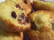 Muffins Lait Ribot, Cranberries Chocolat Blanc