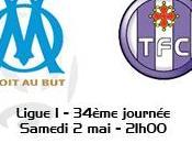 Ligue 34ème journée Marseille route pour titre