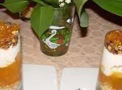 Verrines express l'abricot