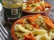 Mini gratin pâtes olivade