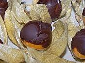 Gourmandises physalis chocolat.