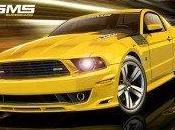 Ford Mustang 460X textos très musclés.