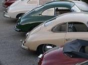 Défilé exceptionnel Porsche aujourd'hui Crans-Montana