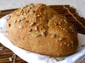 Pain céréales graines tournesol levain déshydraté (fermentescible)